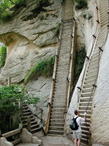 Mt. Huashan in China